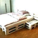 palletbed met nachtkastjes 10 pallets